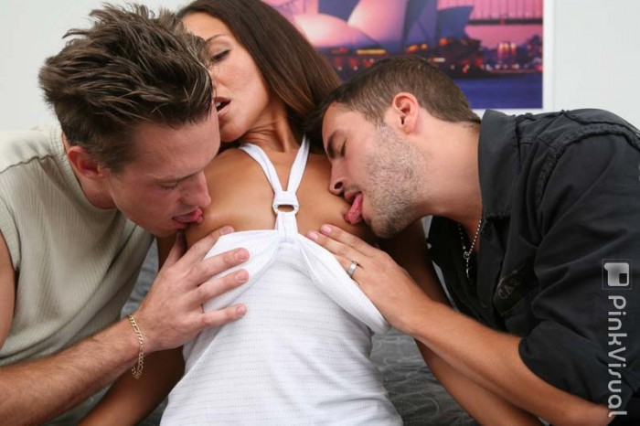 Adriana DeVille Gets Teased